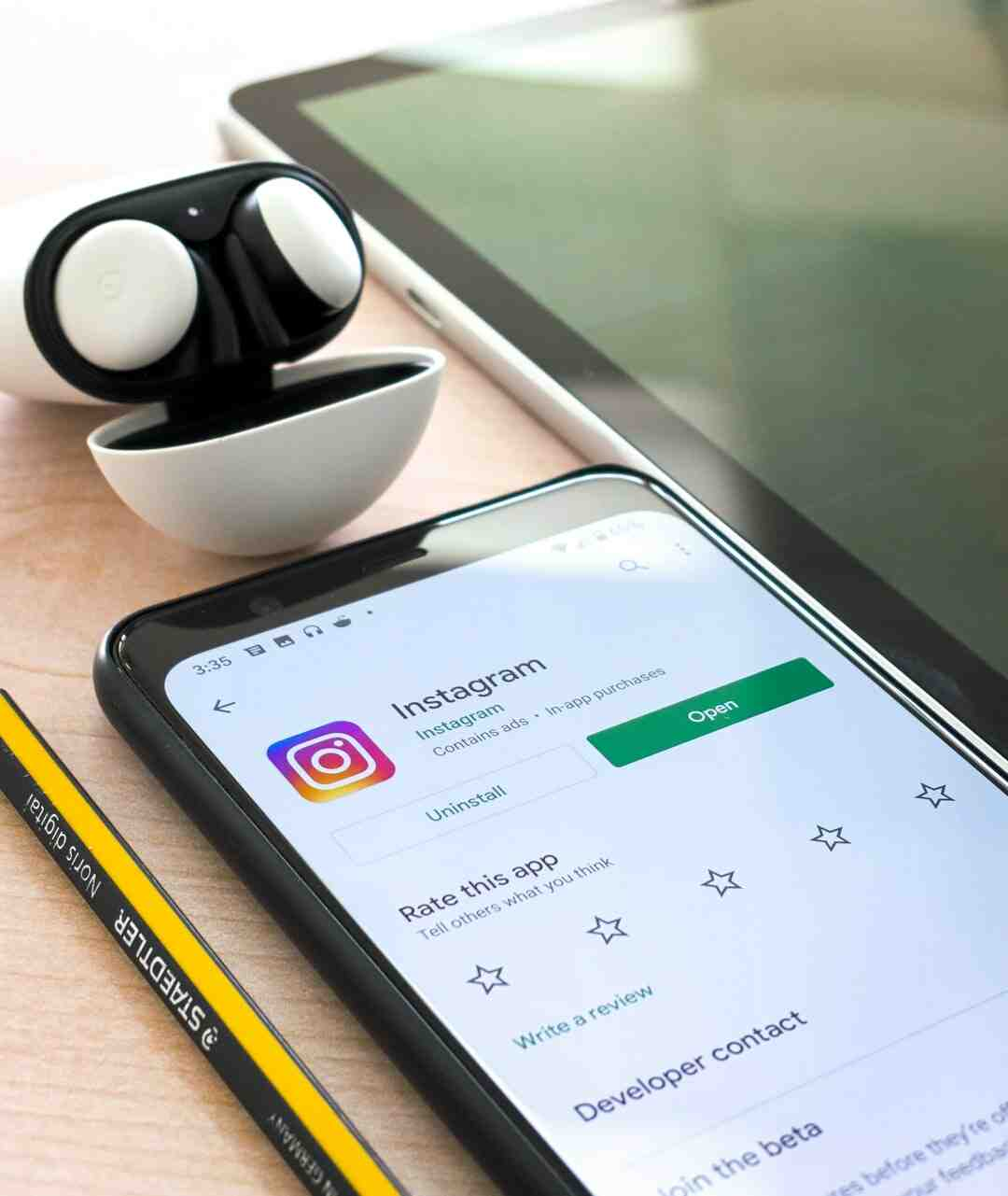 Comment mettre photo sur instagram