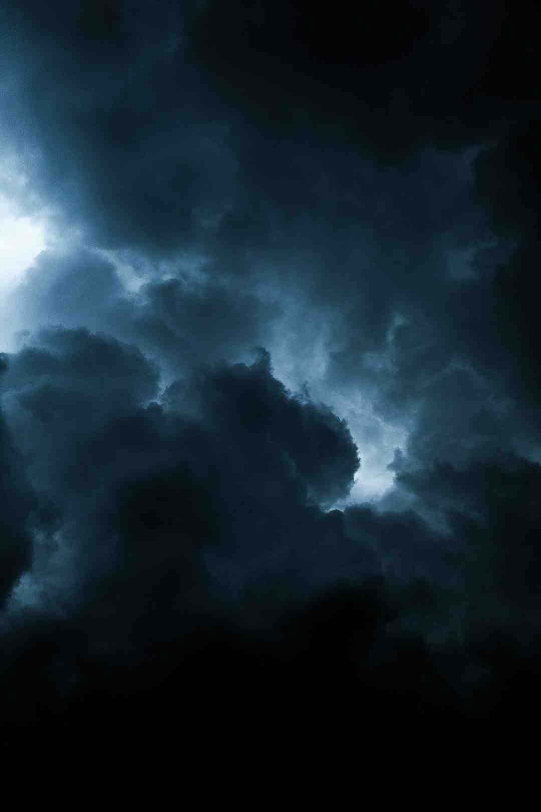 Comment photographier un orage